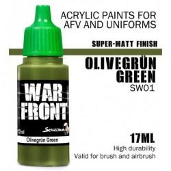 Olivegrun Green