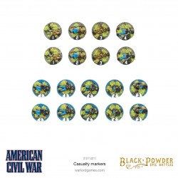 American Civil War Casualty Markers