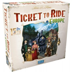 Ticket to Ride Europe 15th Anniversary Deluxe Edition