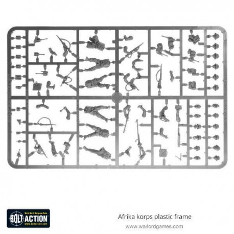 Afrika Korps plastic frame