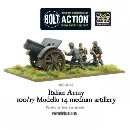 Italian Army 100/17 Modello 14 medium artillery