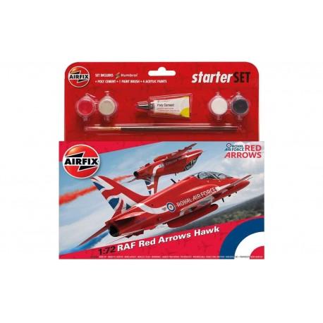RAF Red Arrows Hawk 1:72 Scale
