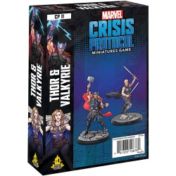 Marvel Crisis Protocol - Thor & Valkyrie Character Pack