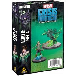 Marvel Crisis Protocol - Loki & Hela Character Pack
