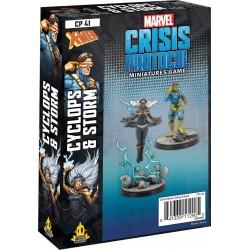 Marvel Crisis Protocol - Cyclops and Storm