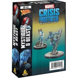 Marvel Crisis Protocol - Mystique & Beast