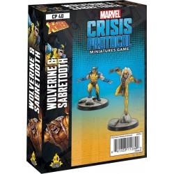 Marvel: Crisis Protocol - Wolverine and Sabretooth