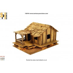 Planked Style Village House - Low Kampung