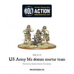 US Army 60mm mortar team