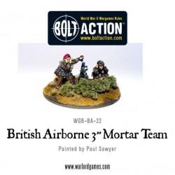 British Airborne 3'' Mortar & Crew