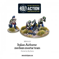 Italian Airborne Paratroopers 81mm medium mortar team