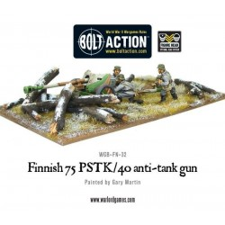 Finnish 75 PSTK/40 Anti-Tank Gun