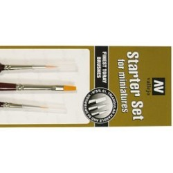 Vallejo Pinceles Brushes (Pack of 3) P15999