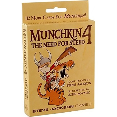Munchkin 4 - The Need for Steed