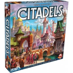 Bruno Faidutti's Citadels Card Game - 2016 Edition - English