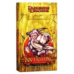 Dungeons & Dragons Inn Fighting Dice Game
