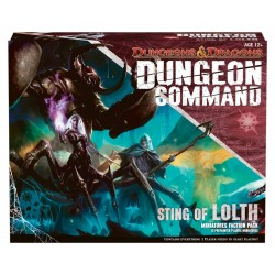 Dungeons and Dragons Command Sting of Lolth Board Game