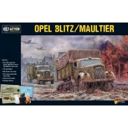 Opel Blitz/Maultier (Plastic Kit)