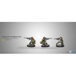 Major Lunah. Ex-Aristeia! Sniper (Viral Sniper Rifle)