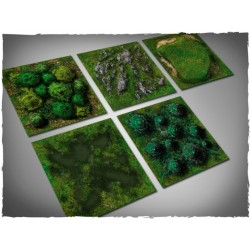 Terrain tiles set – midland nature 10 pc Set