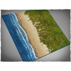 Wargames terrain mat – Beach 4x4 Mousepad