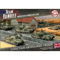 Chieftain Armoured Troop (Plastic)