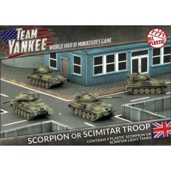 Scorpion/Scimitar Platoon (Plastic)