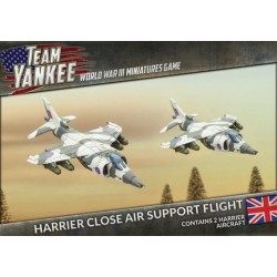 Harrier Close Air Support Flight