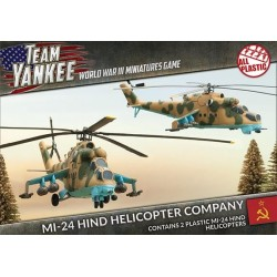 Mi-24 Hind Helicopter Company (Plastic)