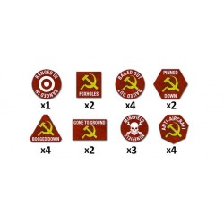 Team Yankee Soviet Token Set