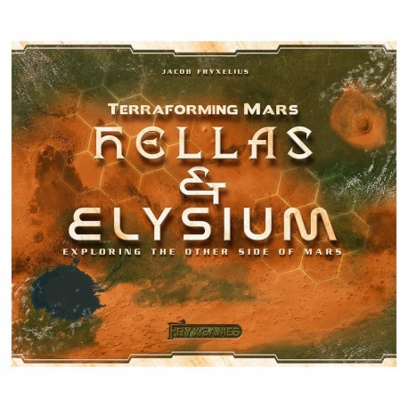 Hellas & Elysium the Other Side of Mars Expansion