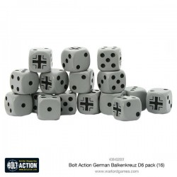 Bolt Action Dice  6 Sided Pack