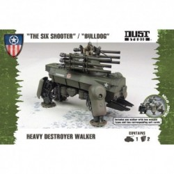 Heavy Destroyer Walker (The Six Shooter/Bulldog)