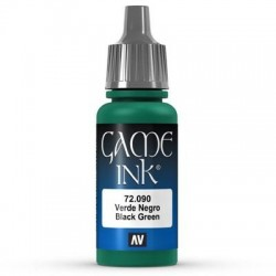 Ink Black Green