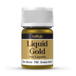 Vallejo Liquid Green Gold