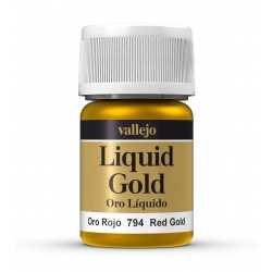 Vallejo Liquid Red Gold