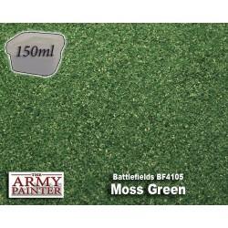 Battlefields Flock: Moss Green