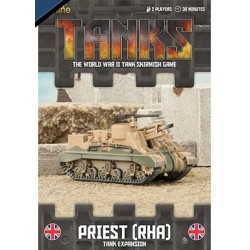 British Priest RHA Tank Expansion