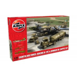 Eighth Air Force: Boeing B-17G™ & Bomber Re-supply Set 1:72