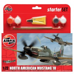 North American Mustang IV Starter Set 1:72