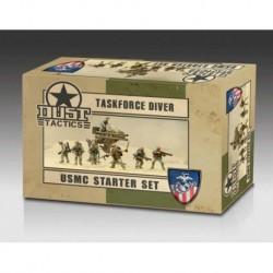 USMC STARTER SET - ''TASKFORCE DIVER'' PRIMED