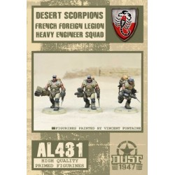 DESERT SCORPIONS HEAVY ENGINEER SQUAD - PRIMED EDITION