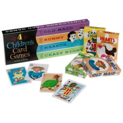 4 Children's Card Games