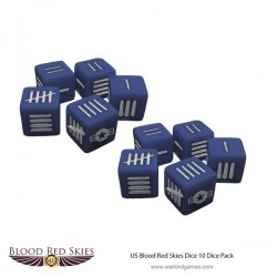 US Blood Red Skies Dice