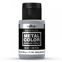 Metal Color 706 White Aluminium 32 ml