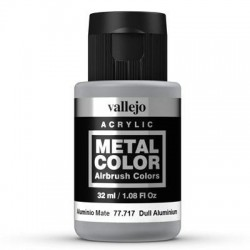 Metal Color 717 Dull Aluminium 32 ml