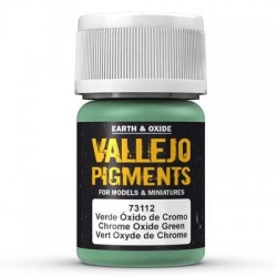 Pigment Chrome Oxide Green 30ml