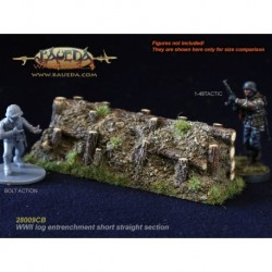 28mm Log entrenchment 8.5cm straight