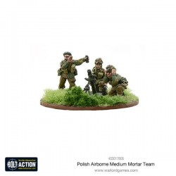 Polish Airborne medium mortar team