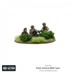 Polish Airborne MMG team